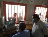 رئيس السكة الحديد يتفقد شبابيك حجز تذاكر محطة القاهرة استعداداً للعيد