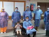 ولادة طفلة بالحجر الصحي لعائدة من الخارج بمجمع البطراوي الجامعي بالزقازيق