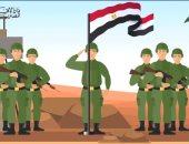 فضل جنود مصر.. فيديو جراف الإفتاء: يقدمون أرواحهم ثمنا لنأمن فى بيوتنا