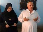 """""""اليوم السابع"""" أمام قبر الشهيد ملازم أول أحمد حسانين أحد أبطال معركة البرث"""
