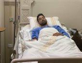 محمد سالم هداف المقاولون العرب يجري جراحة الزائدة
