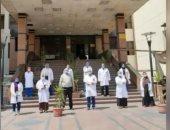 جامعة أسيوط: استقبال مستشفى الراجحى 48 إصابة كورونا منذ بدء تشغيلها للعزل