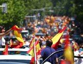 شاهد:  الاعتداء على صحفيين أثناء تغطية احتجاجات مناهضة للحكومة فى إسبانيا