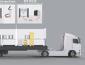 تحويل حاويات الشحن لمختبرات كورونا تعمل بالروبوتات على 2400 اختبار يوميا
