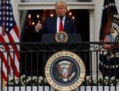 ترامب يعلن إعادة فتح دور العبادة فى أمريكا ويحتفل بقدامى المحاربين