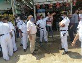 إزالة 247 مخالفة إشغال فورية خلال حملة مكبرة بشبين القناطر
