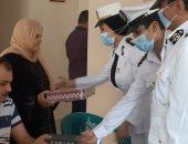 الداخلية توفد مأموريات لمنازل الشهداء لتوزيع هدايا العيد