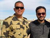 أمير كرارة لـ بيتر ميمى: أهم مخرج فى مصر وربنا يكرمك ودايما تغزو العالم