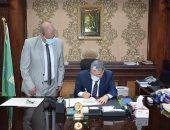 محافظ المنيا يعتمد نتيجة الشهادة الإعدادية بنسبة نجاح 97.79%