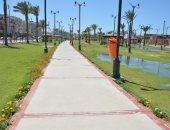 حدائق بورسعيد خالية من المواطنين فى أول أيام عيد الفطر.. صور