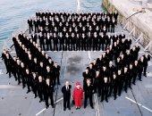 """الحساب الملكى البريطانى يحتفل بالذكرى 30 لإطلاق الفرقاطة """"HMS لانكستر"""".. صور"""
