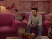 """صور.. """"اليوم السابع"""" مصدر معلومات هيثم شاكر فى مسلسل """"حب عمرى"""""""