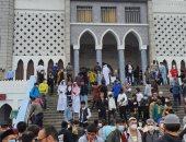 المسلمون فى كوريا يحتفلون بعيد الفطر بأداء صلاة العيد فى مسجد سول