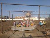 شاهد.. شواطئ البحر الأحمر خالية من المواطنين فى أول أيام عيد الفطر المبارك