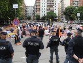 المسلمون فى النمسا يؤدون صلاة عيد الفطر المبارك