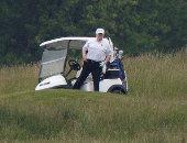 ترامب: لعبت أول مباراة جولف منذ 3 أشهر والأخبار المزيفة جعلتها خطيئة مميتة
