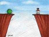 كاريكاتير صحيفة كويتية.. الطريق أمام لقاح فيروس كورونا طويل