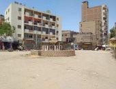 شوارع مغاغة لم يحضر أحد فى أول أيام عيد الفطر بالمنيا.. صور