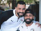 عبد الله السعيد يهنئ جنش بعيد ميلاده
