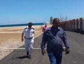 لجان مرور للتأكد من إغلاق الشواطئ والحدائق العامة فى سفاجا