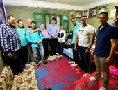 شباب الغربية يزورن منزل الشهيد محمود رجب بطل ملحمة البرث