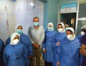 صحة البحر الأحمر: شفاء 19 حالة كورونا بمستشفى حميات الغردقة