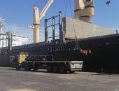 نشاط فى حركة السفن والبضائع والشاحنات ومعدلات الشحن والتفريغ بميناء الإسكندرية