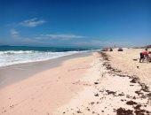 الحياة فى زمن كورونا.. شواطىء الساحل الشمالى خالية من المواطنين..صور