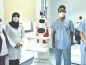 البحرين تبدأ باستخدام الربوتات الطبية فى أجنحة العزل الطبى.. صور