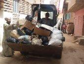 رئيس مدينة الطود يناشد الأهالى عدم إلقاء القمامة أمام المنازل لمساعدة رجال النظافة