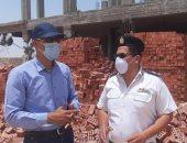 جهاز مدينة الشروق يُزيل مبنيين بدون ترخيص بالمناطق المضافة للمدينة