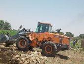 حصاد إزالة مخلفات البناء والتعديات على أراضى وأملاك الدولة بالأقصر ..صور