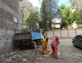 صور .. تكثيف أعمال النظافة والصيانه بشوارع الشرقية خلال أيام العيد