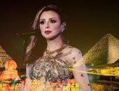 أنغام بعد نجاح حفلها فى الأهرامات: ليله من العمر بمذاق الفخر والعزة