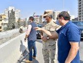 فيديو.. السيسى يتفقد الأعمال الإنشائية لتطوير عدد من الطرق والمحاور بشرق القاهرة