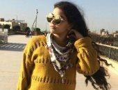 برة الملعب.. راما عز لاعبة الطائرة: أتمنى أتجوز ضابط مثل أبى وبحب حماقى ونيللى كريم