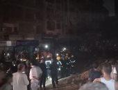محافظ القاهرة يتفقد انفجار خط الغاز بحلمية الزيتون
