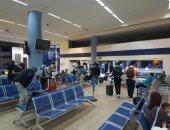 صور.. وصول رحلة استثنائية تقل 76 مصريا عالقا من ألمانيا لمطار مرسى علم
