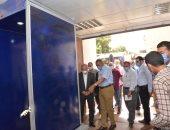 رئيس جامعة أسيوط يشهد تركيب بوابة تعقيم ذاتى بمستشفى الأمراض النفسية
