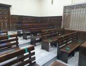 الانتهاء من الإجراءات الوقائية بمحاكم الإسكندرية وبدء العمل السبت المقبل.. صور