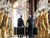 فيديو.. تحضيرات كبيرة لإعادة فتح قصر فرساى فى فرنسا أمام الزوار