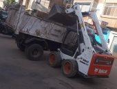 رفع 50 طن من المخلفات فى حملة نظافة بمركز البلينا بسوهاج