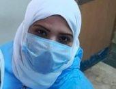 """جيشنا الأبيض.. """"وفاء"""" ممرضة بمستشفى الباجور للحجر الصحى على خط مواجهة كورونا"""
