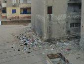 قارئ يطالب بوضع صناديق لجمع القمامة فى منطقة مساكن الجون بالفيوم
