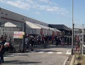 احتجاجات أمام شركة نيسان ببرشلونة بعد قرار إغلاق مصنعها وتسريح 3200 عامل