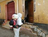 صور.. رش وتطهير الشوارع والمنشآت بمدن ومراكز البحيرة لمواجهة كورونا