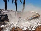 صور .. حملات لإزالة مخالفات البناء والتعديات على أملاك الدولة فى أسيوط وسوهاج