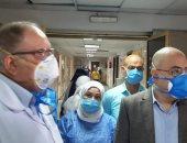 تخصيص طابقين بمستشفى بنى سويف الجامعى لعلاج حالات الاشتباة بكورونا
