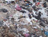 """شكوى من انتشار القمامة وإلقاء """"الكارو"""" المخلفات بوصلة """"دائرى"""" بشتيل"""