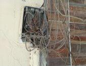 قارئ يشكو انقطاع خدمة التليفون الأرضى والإنترنت بسبب تهالك التوصيلات بفيصل